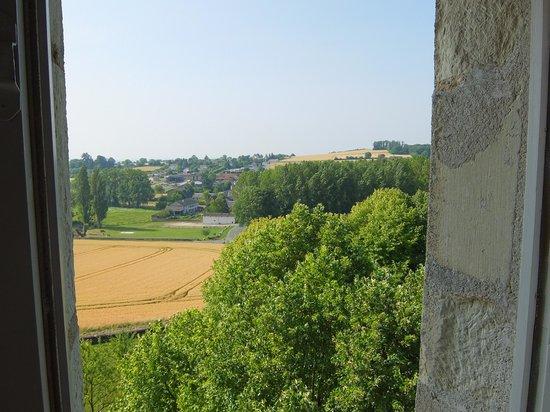 Chateau de la Motte : View from Geoffroy du Bec room