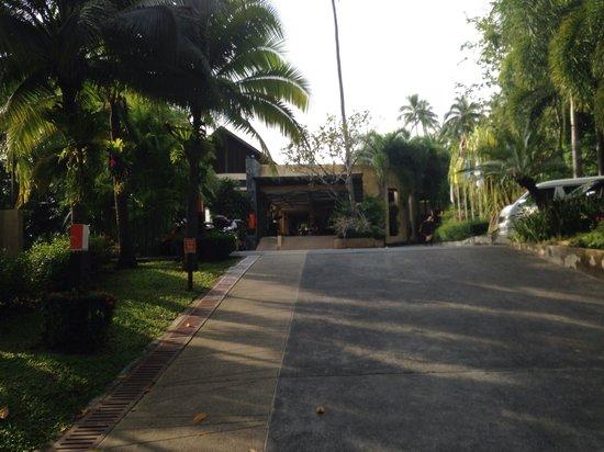 New Star Beach Resort: Entrance