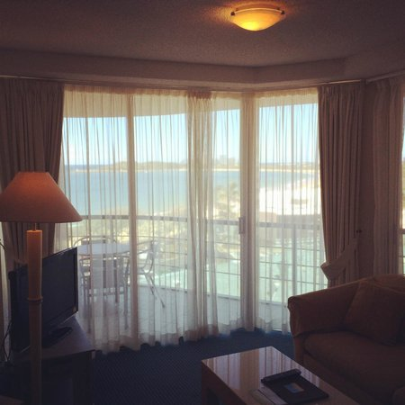 Landmark Resort: The lounge