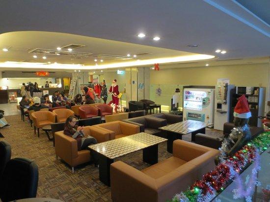 Dotonbori Hotel: Lobby