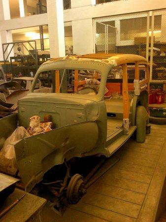 Museo del Automovil Coleccion Nicolini: Getting the treat