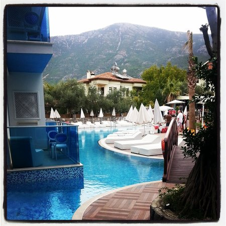 Ocean Blue High Class Hotel : tatil keyfi