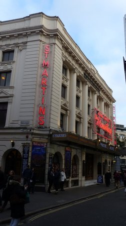Mousetrap at St. Martins Theatre