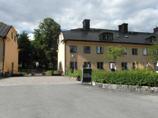 Hotel Skeppsholmen: Arriving