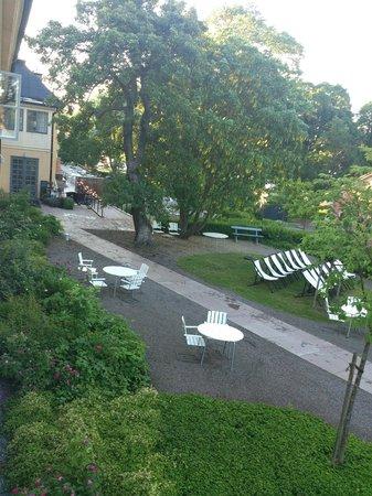 Hotel Skeppsholmen : Pretty terrace
