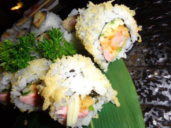 Hanabi Sushi House: prawn tempura sushi