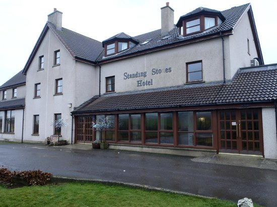 Standing Stones Hotel: front of hotel