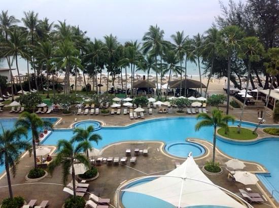 Le Meridien Phuket Beach Resort : las vistas desde la habitacion
