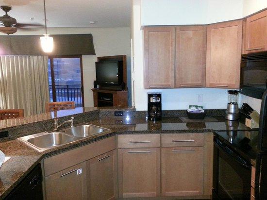Wyndham Vacation Resorts Great Smokies Lodge: 1BR Kitchen