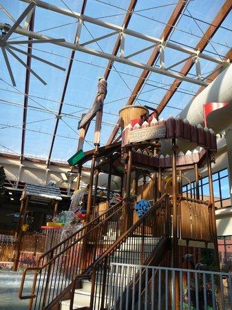 Wyndham Vacation Resorts Great Smokies Lodge : Wilderness Indoor Waterpark