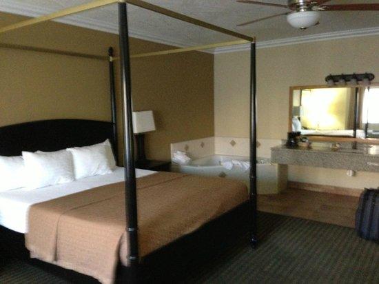 Desert Quail Inn: Fantastic whirlpool suite