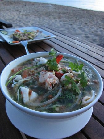 Phuong Binh House: Seafood noodles soup