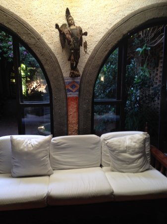 Hotel Casa Naranja: Very cozy rooms to chill out