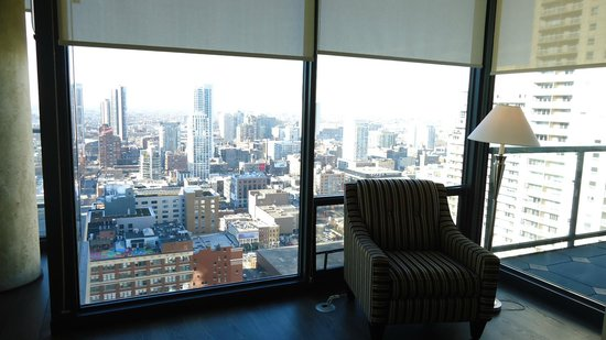 State and Grand by BridgeStreet Worldwide: View from the Sala room