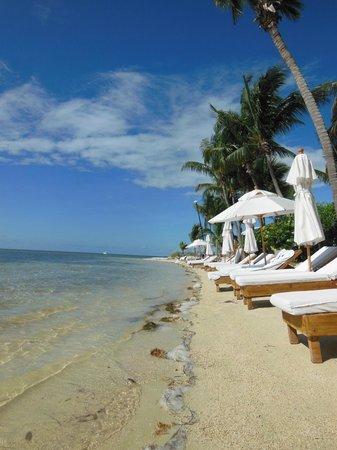 Little Palm Island Resort & Spa, A Noble House Resort : Beach area