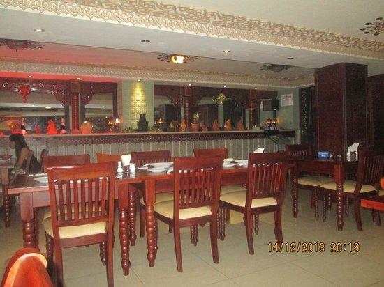 Bahdja Restaurant: ambiance