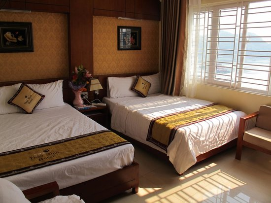 Thao Minh New Star Hotel: Inside of room