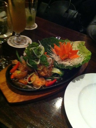 House of moon: Prawn dish, one of the best i've had!!!!!!!