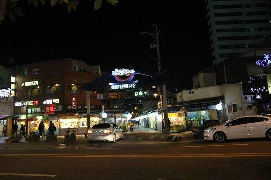 Haeundae MK: motel surrounding