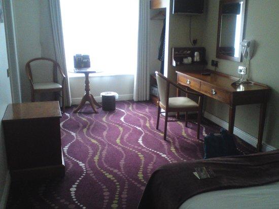 Arlington Hotel O'Connell Bridge: la chambre 202