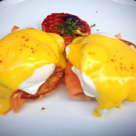 Habitual Quench & Feed: Salmon egg benedict
