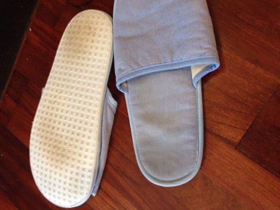Rawi Warin Resort & Spa: Dirty slippers