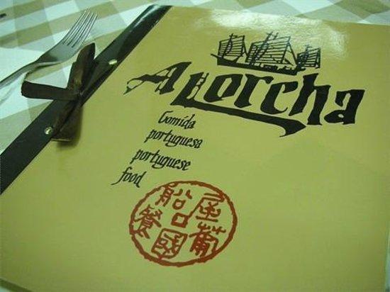 A Lorcha : menu