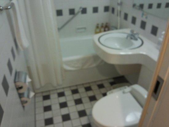 Sapporo Tobu Hotel : トイレと風呂が別だと更によいのですが