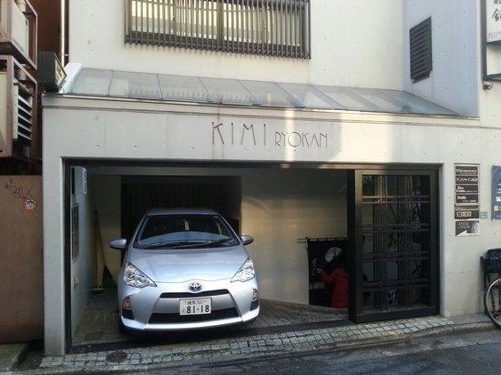 Kimi Ryokan: VIew of the entrance