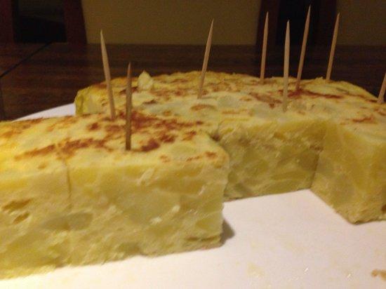 Casa Juan : Tortilla!!!