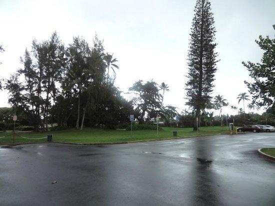 Kalama Beach Park: parking