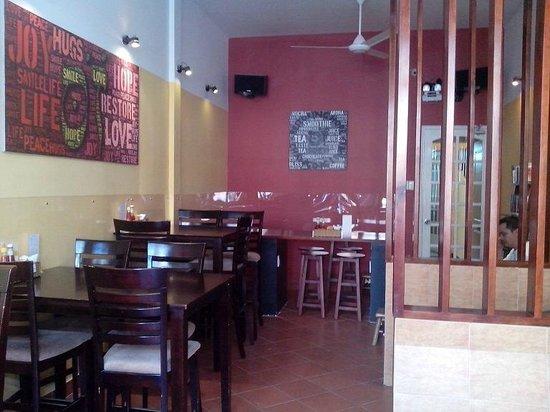 Sozo: new sitting area