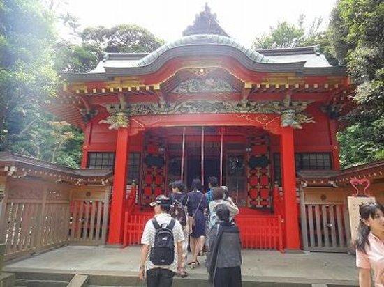 Enoshima Shrine : 中津宮