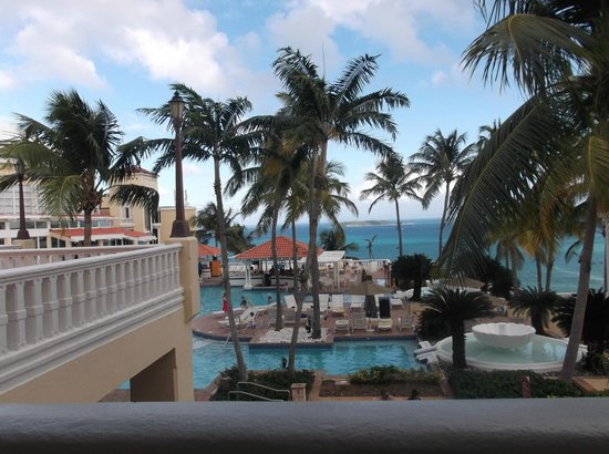 El Conquistador Resort, A Waldorf Astoria Resort: View from lobby