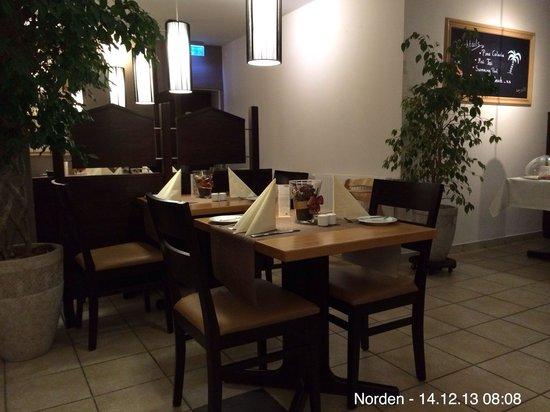 Hotel Pension Am Hafen: Frühstücksraum