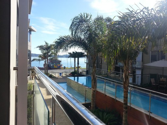 Edgewater Palms Apartments : View from the balcony of apt 17