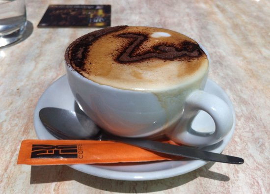 Zoo Bar and Cafe: Cappuccino
