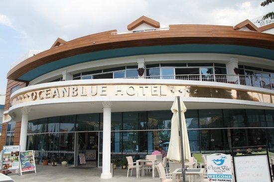 Ocean Blue High Class Hotel: Outside View