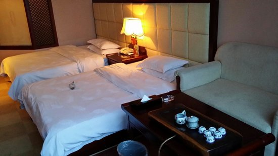 Rong County, Chine : The room layout
