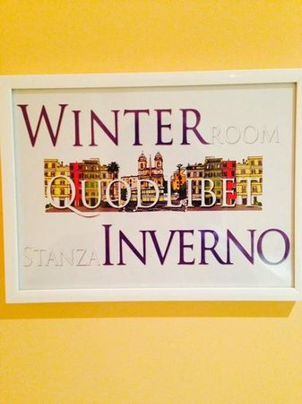 QuodLibet: Winter room can accomodate 4