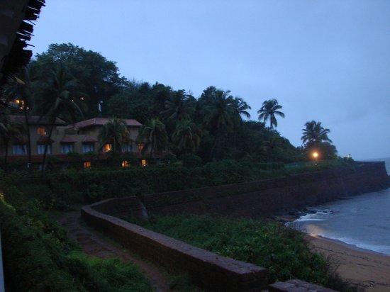 Vivanta by Taj - Fort Aguada, Goa : View of the sea-facing rooms