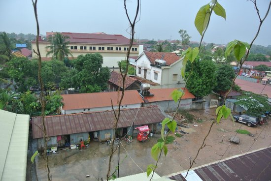 Siem Reap Evergreen Hotel: Вид из номера