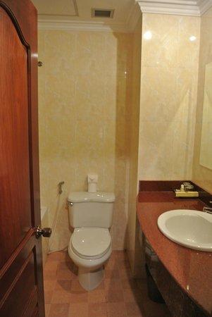 Siem Reap Evergreen Hotel: Ванная комната