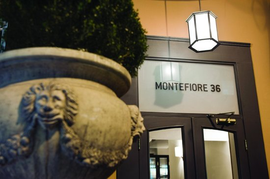 Hotel Montefiore: Hotel & ground