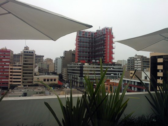 Tierra Viva Miraflores Larco: View from the breakfast