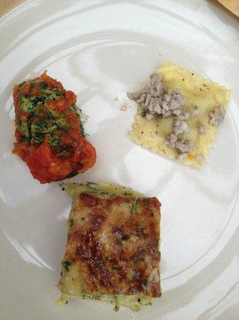 Il Rosmarino : three pastas