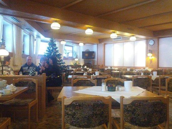 Ruchti's Hotel und Restaurant : ресторан для завтрака