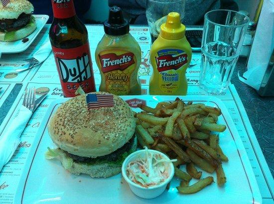 Little Rock Diner : Cheese burger