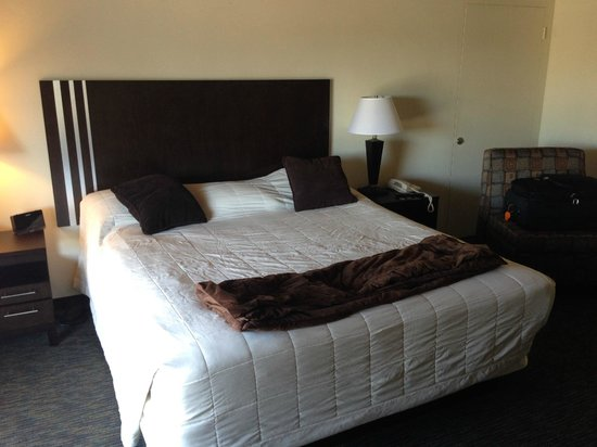 Orange Tree Inn: King size bed