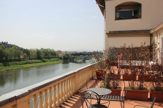 Hotel Consigli: Alleged Private Terrace
